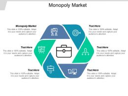 Monopoly Market Ppt Powerpoint Presentation Gallery Skills Cpb