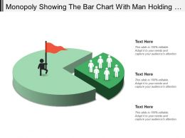 Monopoly Showing The Bar Chart With Man Holding Hand
