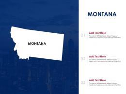Montana Powerpoint Presentation PPT Template