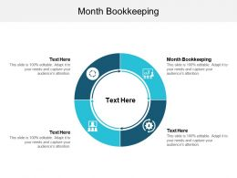 Month Bookkeeping Ppt Powerpoint Presentation Layouts Rules Cpb