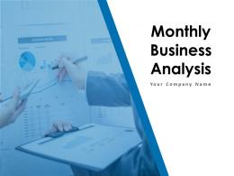 Monthly Business Analysis Powerpoint Presentation Slides