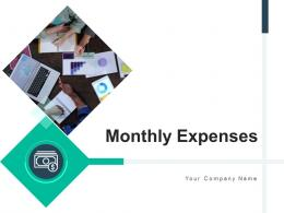 Monthly Expenses Representing Revenues Dashboard Organization Professional Services