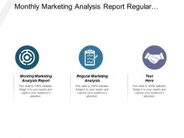 Monthly Marketing Analysis Report Regular Marketing Analysis Marketing Strategies Cpb