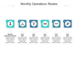 Monthly Operations Review Ppt Powerpoint Presentation Slides Layout Ideas Cpb