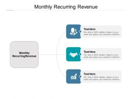 Monthly Recurring Revenue Ppt Powerpoint Presentation Portfolio Graphic Tips Cpb