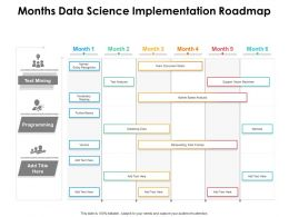 Months Data Science Implementation Roadmap