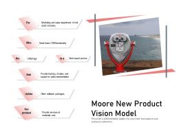 Moore New Product Vision Model