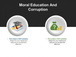 Moral Education And Corruption