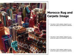 Morocco Rug And Carpets Image