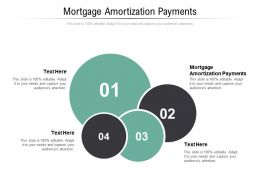 Mortgage Amortization Payments Ppt Powerpoint Presentation Ideas Slide Portrait Cpb