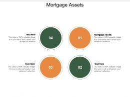 Mortgage Assets Ppt Powerpoint Presentation Slides Designs Cpb