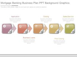 Mortgage Banking Business Plan Ppt Background Graphics