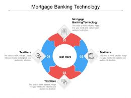 Mortgage Banking Technology Ppt Powerpoint Presentation Layouts Elements Cpb