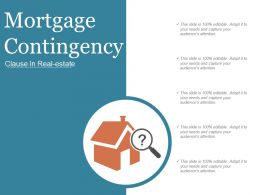 Mortgage Contingency Ppt Sample Download