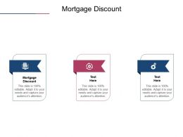 Mortgage Discount Ppt Powerpoint Presentation Summary Slides Cpb