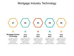 Mortgage Industry Technology Ppt Powerpoint Presentation Pictures Themes Cpb