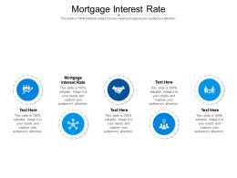 Mortgage Interest Rate Ppt Powerpoint Presentation Model Slides Cpb