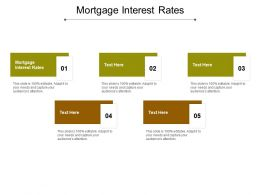 Mortgage Interest Rates Ppt Powerpoint Presentation File Sample Cpb