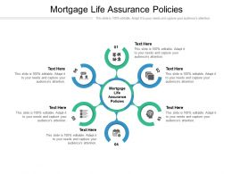 Mortgage Life Assurance Policies Ppt Powerpoint Presentation Pictures Slide Download Cpb