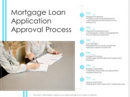 Mortgage Loan Application Approval Process