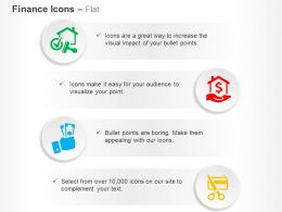 mortgage_loan_approved_payday_home_loan_debt_free_ppt_icons_graphics_Slide01