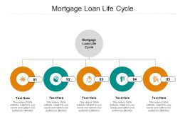 Mortgage Loan Life Cycle Ppt Powerpoint Presentation Pictures Slide Download Cpb