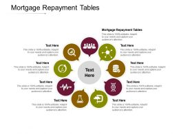 Mortgage Repayment Tables Ppt Powerpoint Presentation Templates Cpb