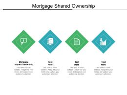 Mortgage Shared Ownership Ppt Powerpoint Presentation Outline Ideas Cpb