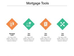 Mortgage Tools Ppt Powerpoint Presentation Slides Model Cpb