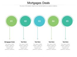 Mortgages Deals Ppt Powerpoint Presentation Summary Show Cpb