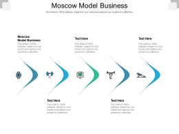Moscow Model Business Ppt Powerpoint Presentation Summary Layout Ideas Cpb