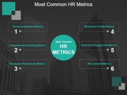 Most Common Hr Metrics Powerpoint Slide Introduction