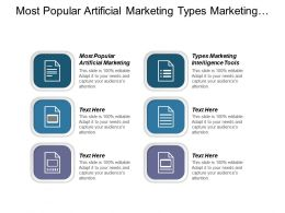 Most Popular Artificial Marketing Types Marketing Intelligence Tools Cpb