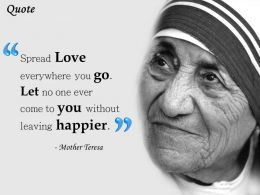 Mother Teresa Quote Presentation Slide 0214