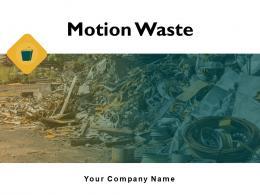 Motion Waste Powerpoint Presentation Slides