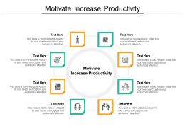 Motivate Increase Productivity Ppt Powerpoint Presentation Gallery Slide Portrait Cpb