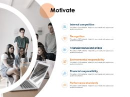 Motivate Responsibility Ppt Powerpoint Presentation Slides Guidelines