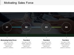 Motivating Sales Force Ppt Powerpoint Presentation Gallery Skills Cpb