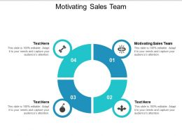 Motivating Sales Team Ppt Powerpoint Presentation File Design Ideas Cpb