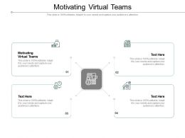 Motivating Virtual Teams Ppt Powerpoint Presentation Styles Graphic Tips Cpb