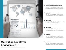 Motivation Employee Engagement Ppt Powerpoint Presentation Model Cpb