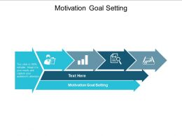 Motivation Goal Setting Ppt Powerpoint Presentation Model Example Introduction Cpb