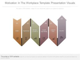 Motivation In The Workplace Template Presentation Visuals
