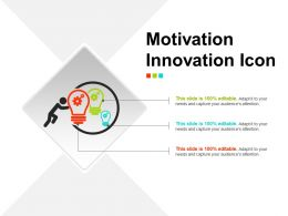 Motivation Innovation Icon