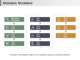 Motivation Mcclelland Ppt Powerpoint Presentation Infographic Template Tips Cpb