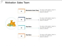 Motivation Sales Team Ppt Powerpoint Presentation Model Designs Cpb
