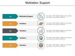 Motivation Support Ppt Powerpoint Presentation Styles Templates Cpb