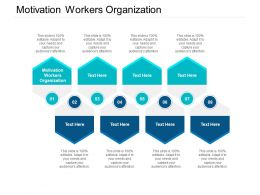 Motivation Workers Organization Ppt Powerpoint Presentation Ideas Design Templates Cpb