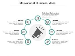 Motivational Business Ideas Ppt Powerpoint Presentation Format Cpb