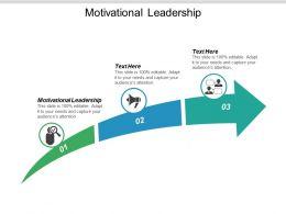 Motivational Leadership Ppt Powerpoint Presentation Portfolio Outline Cpb